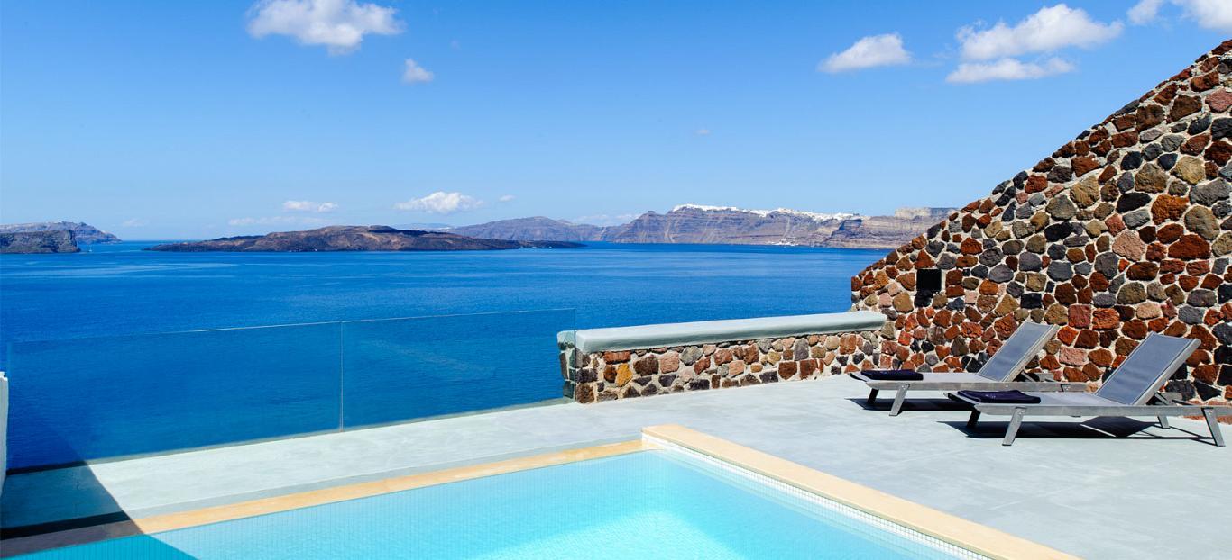 Ambassador Hotel Santorini Luxury Hotel With Private Pools