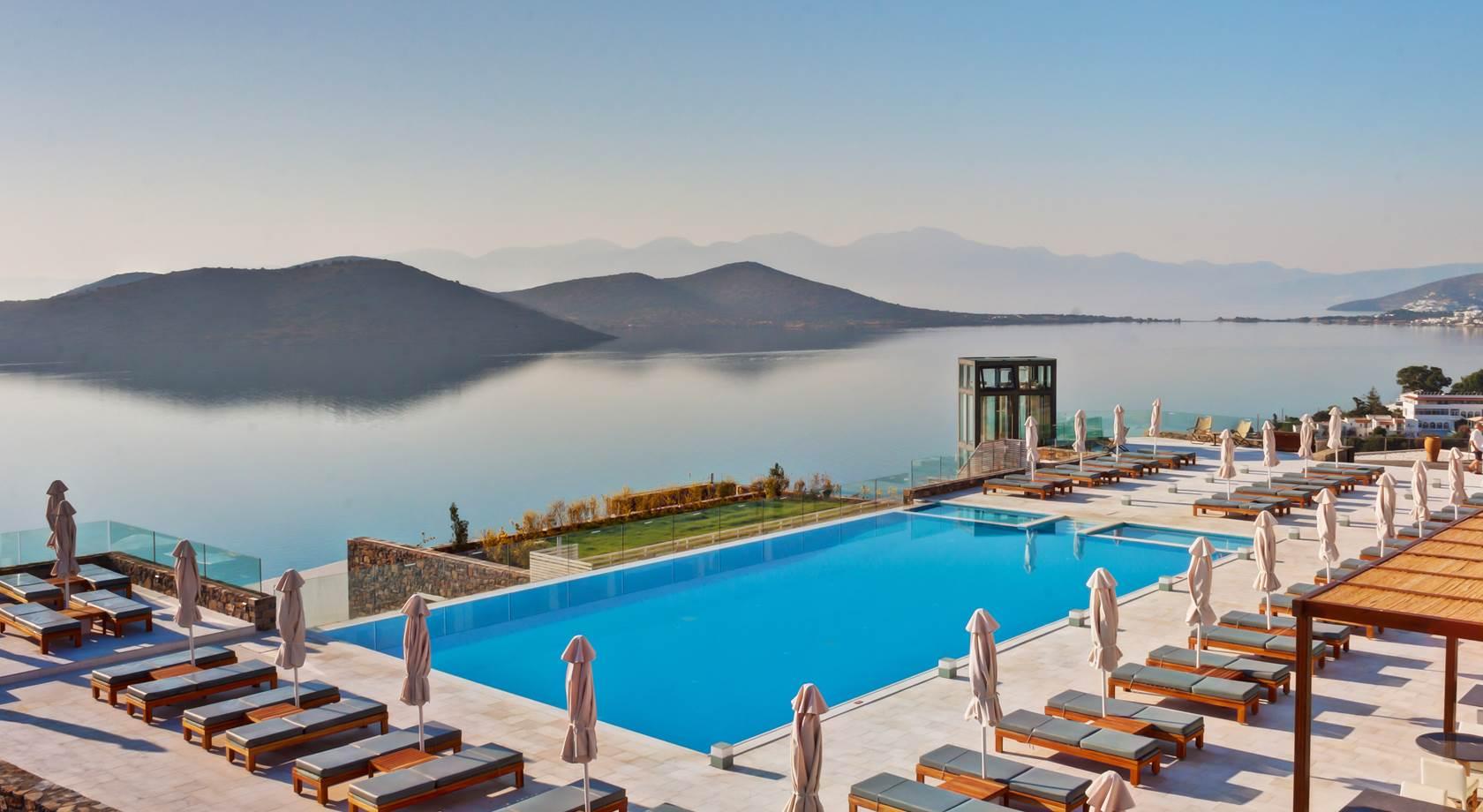 Royal Marmin Bay Elounda Crete Luxury Boutique Style Hotel