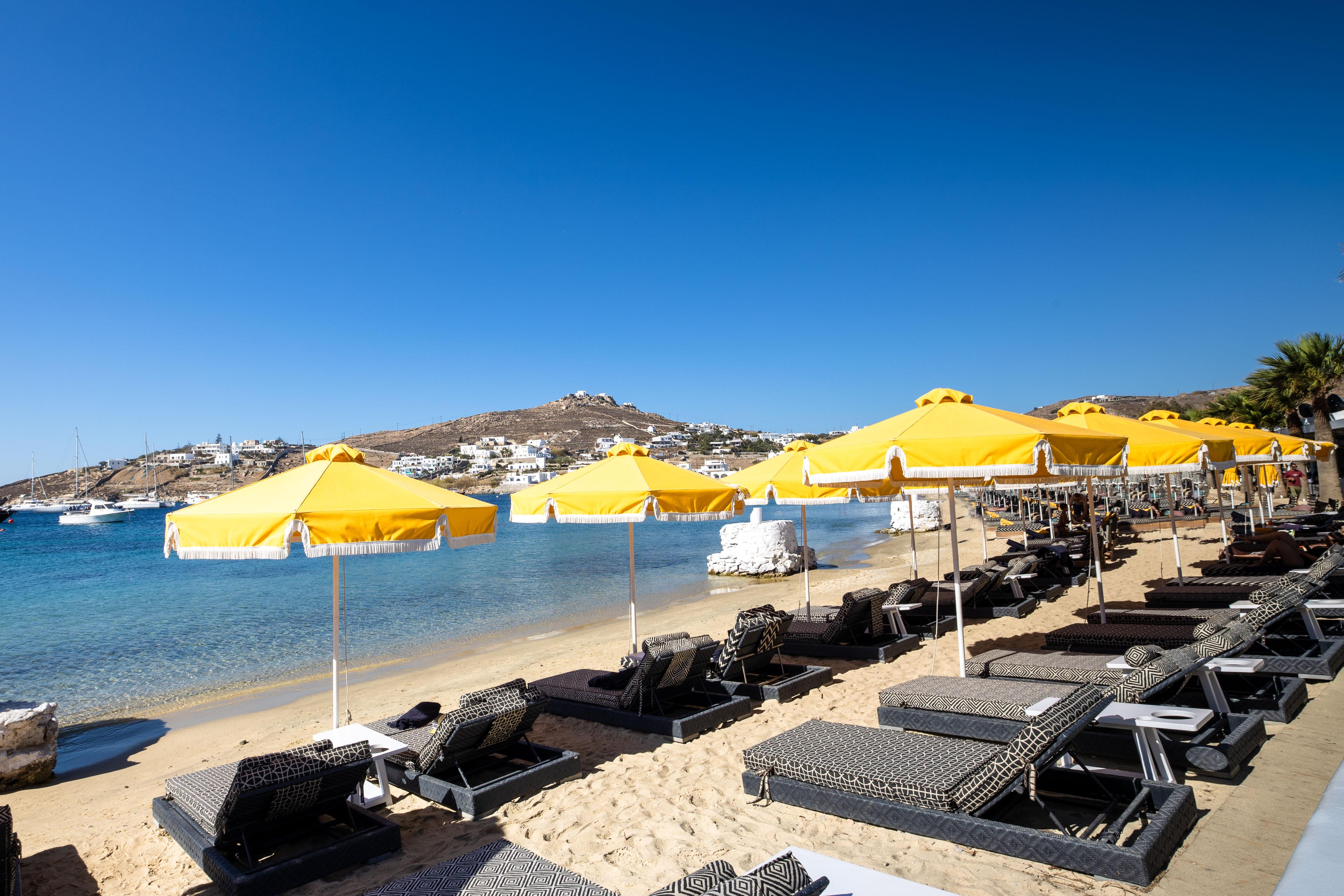 mykonos blanc hotel beach