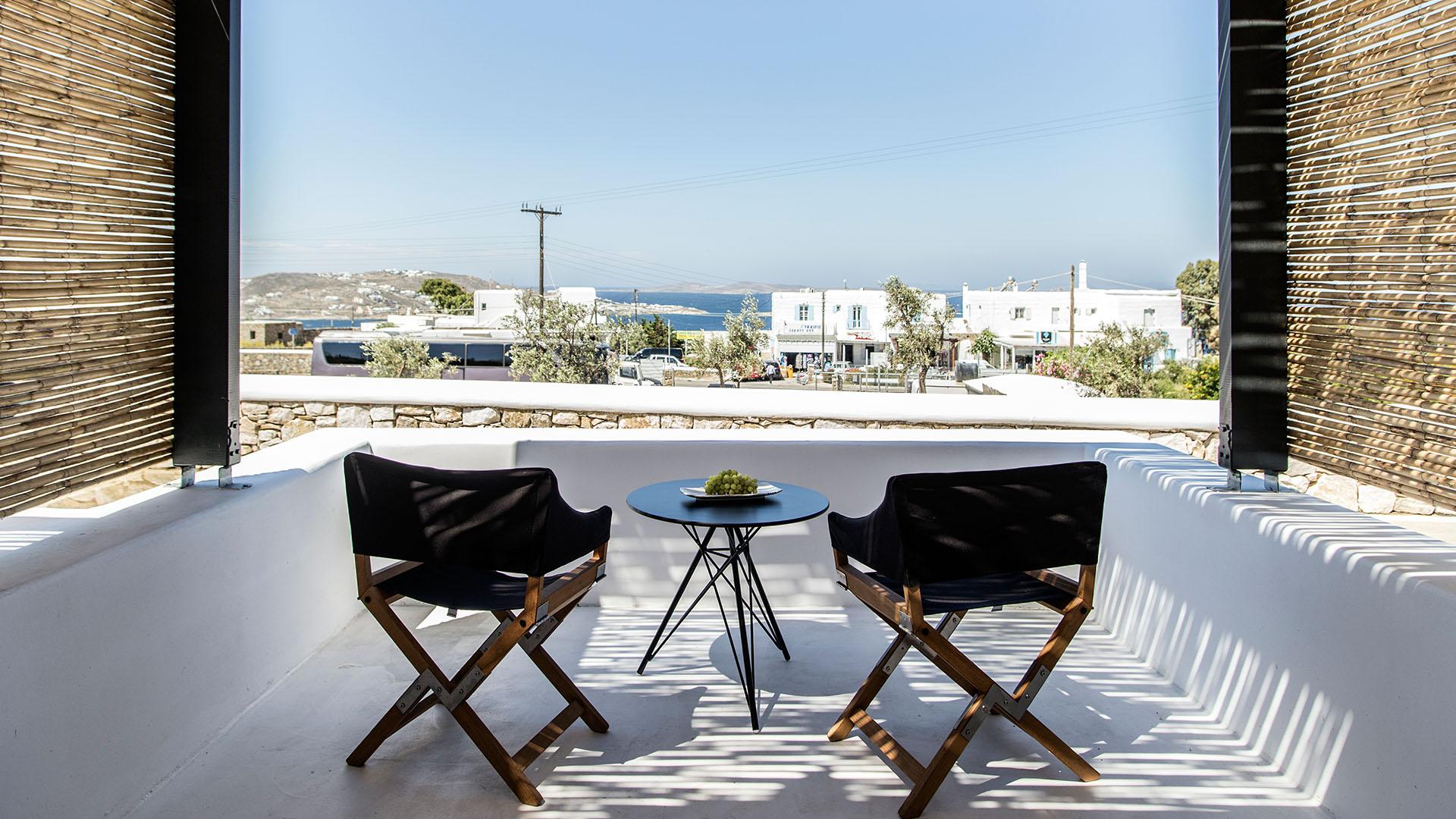 my mykonos hotel views