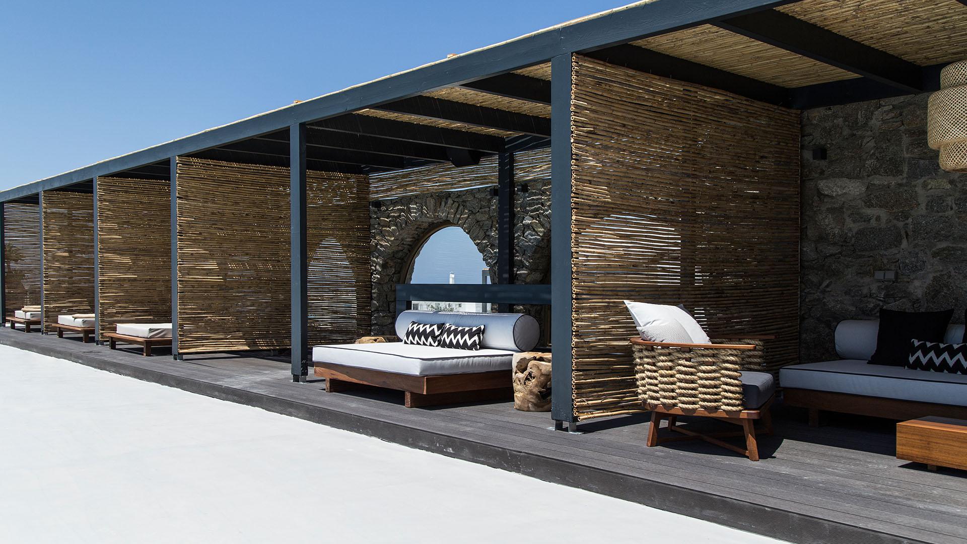 my mykonos hotel terrace